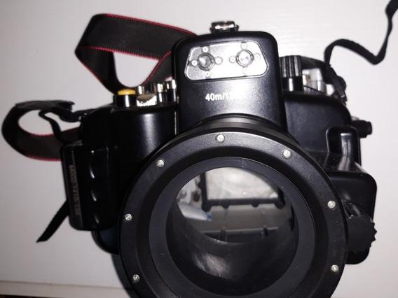 Caixa Estanque Profissional Câmera Nikon Subaquática