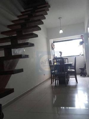 Apartamento Com 2 Dormitórios À Venda, 60 M² Por R$ 255.000 - Gonzaguinha - São Vicente/sp - Ap2615
