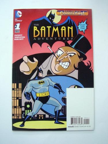 Comic Batman Aventuras 1 Edicion Comicfest Halloween