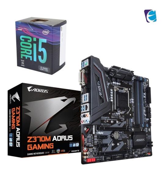 Kit 8a Geração Core I5 8400 Gigabyte Aorus Z370m Gaming I