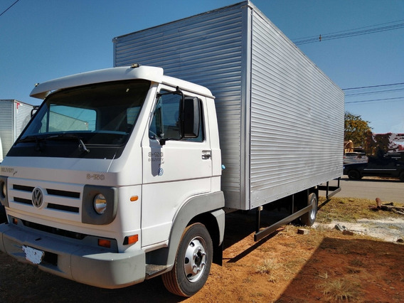 Vw 8150/10 Branco Bau Com 7x2.60m
