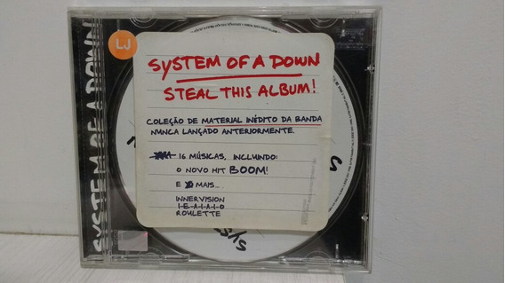 Cd System Of A Down - Steal This Album!