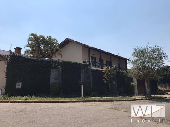 Casa Com 3 Dormitórios À Venda, 241 M² Por R$ 700.000 - Parque São Quirino - Campinas/sp - Ca0433