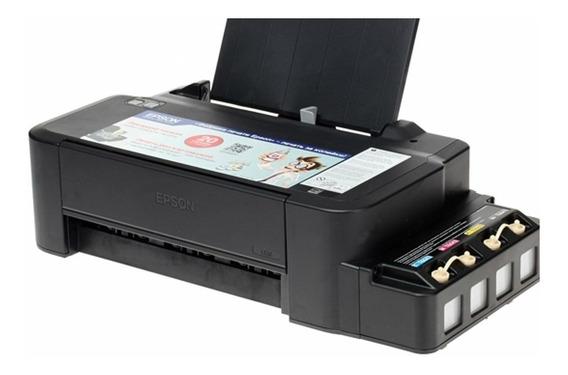 Impresora Epson L120 Sistema De Tinta Continua 4 Colores