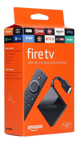 Reproductor Multimedia Fire Stick 4k Tv Firestick 4k Amazon