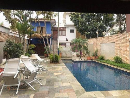 Imagem 1 de 18 de Magnifica Casa Com 3 Suítes À Venda, 369 M² - Vila Leopoldina - São Paulo/sp - Ca0256