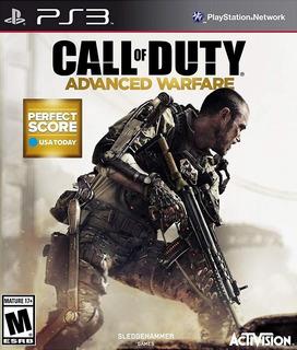 Call Of Duty Advanced Warfare - Juego Digital Para Ps3