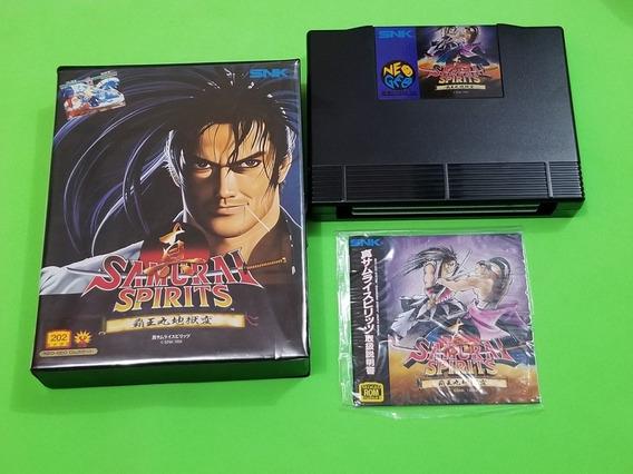 Samurai Shodown 2 Original Japonês Neo Geo Aes Completo