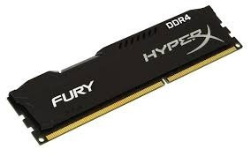 Memória Kingston Hyperx Fury Ddr4 2400mhz 4gb Hx424c15fb/4