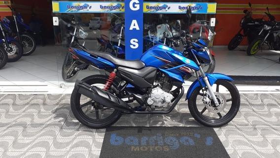 Yamaha Ys Fazer 150 Ed 2015 Azul Único Dono