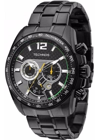 Relógio Technos Masculino Os20.if Nitreto Cronógrafo + Frete