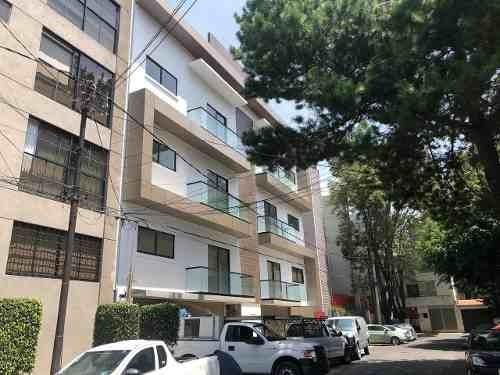 Penthouse En Renta Ubicado En Bartolache Colonia Del Valle