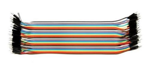 Cables Jumper 20 Cm X 40 Unidades