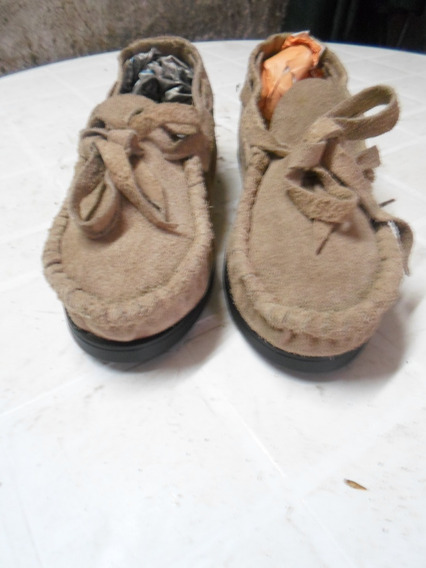 Calzados - Zapatos - Mocasines De Gamuza - Nuevos - Ultimos!