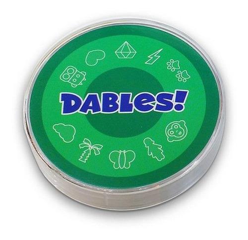 Dables Juego Mesa Cartas Redondas Memoria Visual Dobles