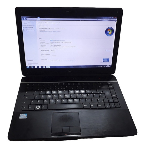 Notebook Sim+ Windows 2gb De Ram Intel Pentium Hd 320 Gb
