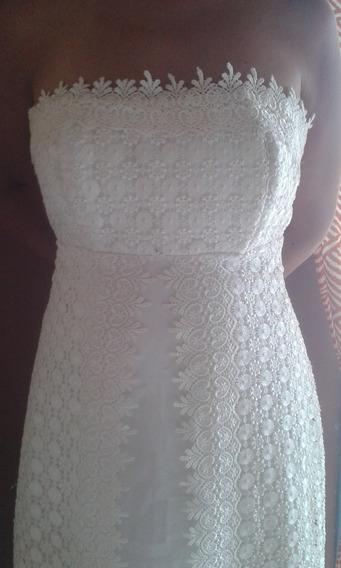 Vestido De Novia Talla 10-12