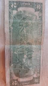 Billete De 2 Dolares Declaration Of Independece 1776