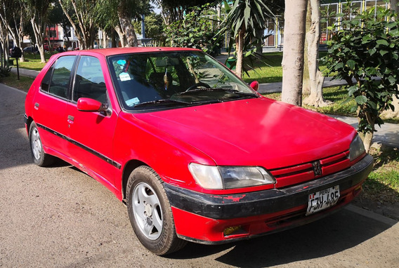 Peugeot 306 Rojo Mecanico Ok