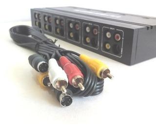 Conector 5en1 Xbox Ps1 Ps2 Snes Gnesis N64 Wii