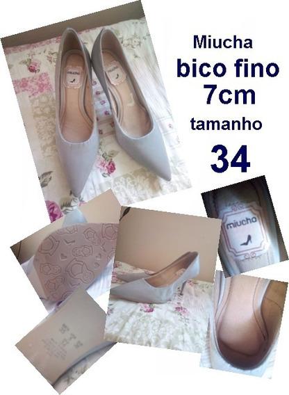 Sapatos Femininos Excelente Estado Pouquíssimo Uso
