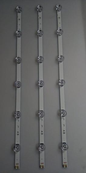 Barra Led Lg 32lb580b | 32lf561 | 32lf5800 | 32lb5600 | 6916l-1974a | Kit 3 Un.