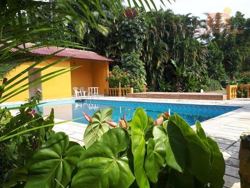 Chácara Com 2 Dormitórios À Venda, 3000 M² Por R$ 450.000,00 - Ana Dias - Itariri/sp - Ch0115