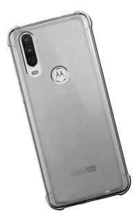 Funda Motorola Moto One G Z P X E C Protector Uso Rudo Tpu Case Transparente Bumper