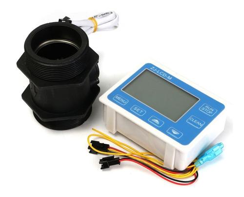 Imagen 1 de 6 de Medidor Digital Flujo Para Agua 2   Dia.sensor,pantalla Lcd