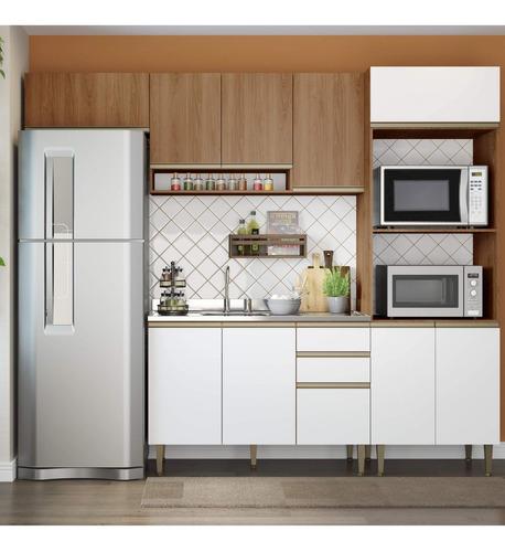 Cozinha Completa 4 Peças 10 Portas Com Basculante Be Gc