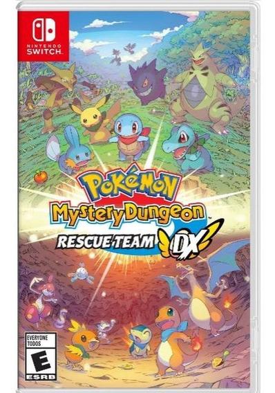 Pokemon Mystery Dungeon Rescue Team Dx Switch Mídia Física