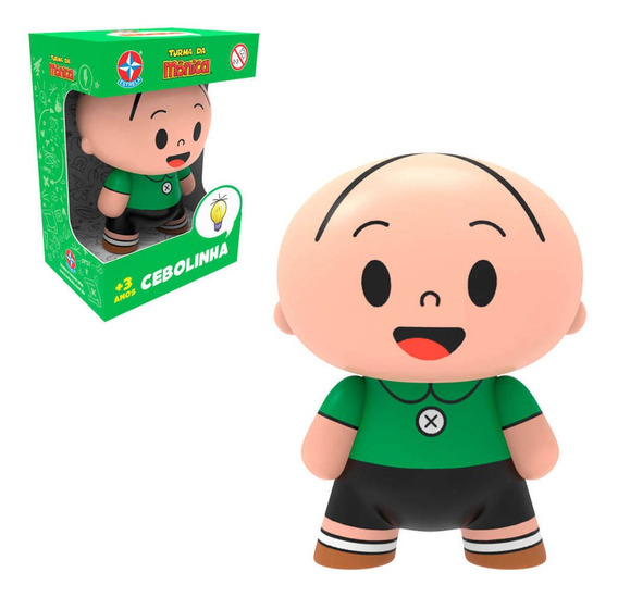 Boneco Toy Art Turma Da Mônia - Cebolinha - Estrela