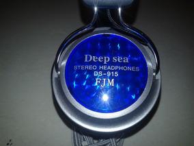 Fone De Ouvidos Com Microfone Deep Sea Ds-915m.v