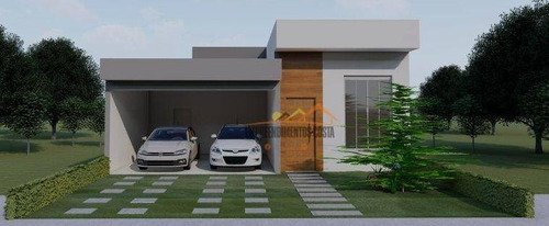 Imagem 1 de 13 de Casa Com 3 Dormitórios À Venda, 105 M² Por R$ 580.000,00 - Condomínio Village Moutoneé - Salto/sp - Ca1788