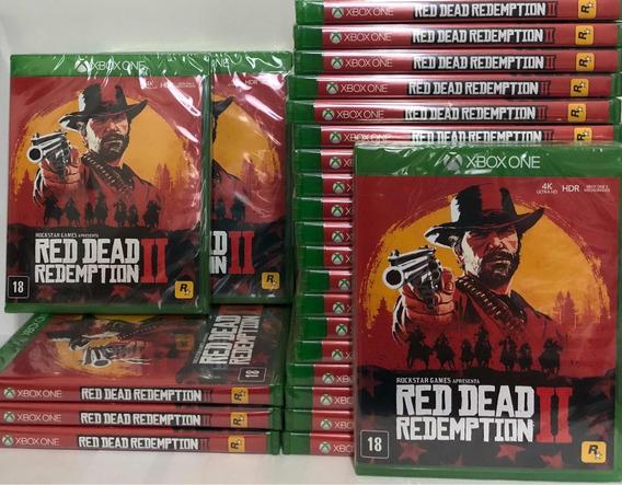 Jogo Red Dead Redemption 2 Xbox One Mídia Física Promoção