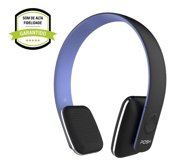 Headphone Fone De Ouvido Bluetooth Celular Posh Urban Bl