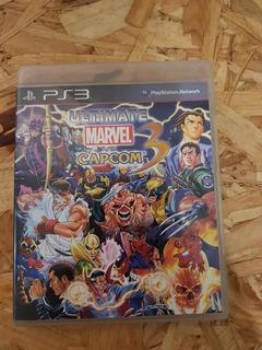 Ultimate Marvel Vs Capcom 3 Playstation 3 Ps3 Gran Estado !!