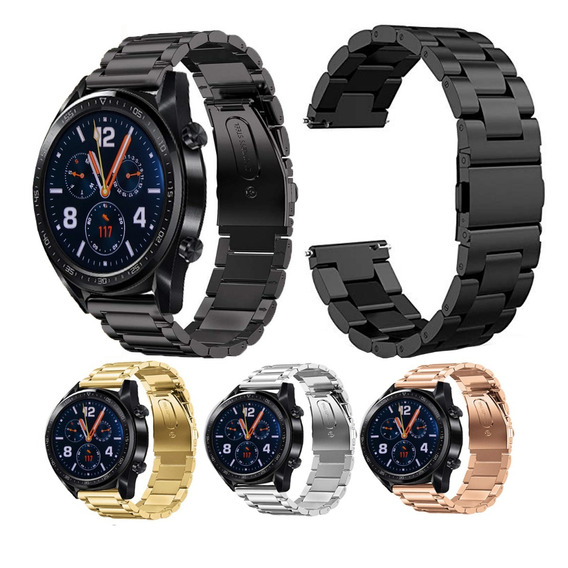 Extensible Correa De Acero Inoxidable Para Huawei Watch Gt