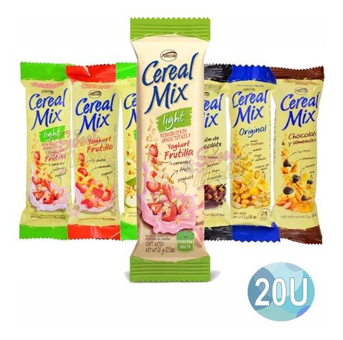 Imagen 1 de 5 de Cereal Mix Barritas De Cereal X 20u - Oferta En Sweet Market