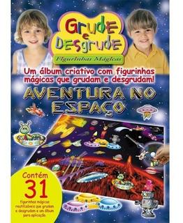 Álbum Mágico - Aventuras No Espaço - Médio + 1 Quebra Cabeça