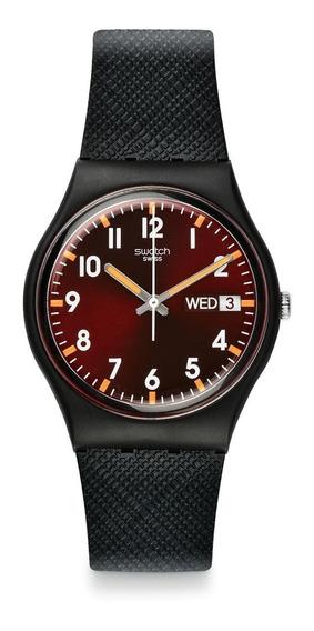 Reloj Sir Red Negro Swatch