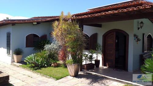 Imagem 1 de 15 de Casa 4 Dormitórios Ou + Para Venda Em Araruama, Parque Hotel, 3 Dormitórios, 1 Suíte, 2 Banheiros, 5 Vagas - 21_2-225347