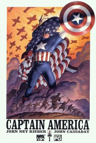 Capitan America Vol 4 Cómics Digital Español