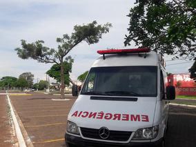Sprinter Ambulancia Uti Sprinter Cdi 313 Teto Alto