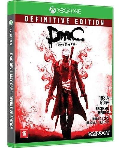 Dmc - Devil May Cry Xbox One D.v Mídia Física-frete Grátis