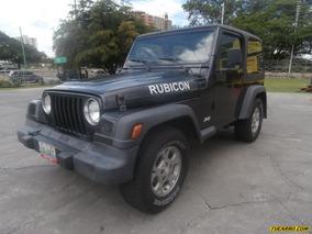 Jeep Rubicon Rústico