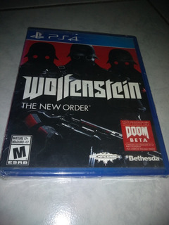 Playstation 4 Ps4 Video Game Wolfenstein The New Order Nuevo