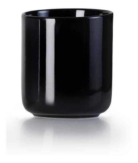 Porta Utensilios De Cocina De Porcelana Negro Marca Ibili