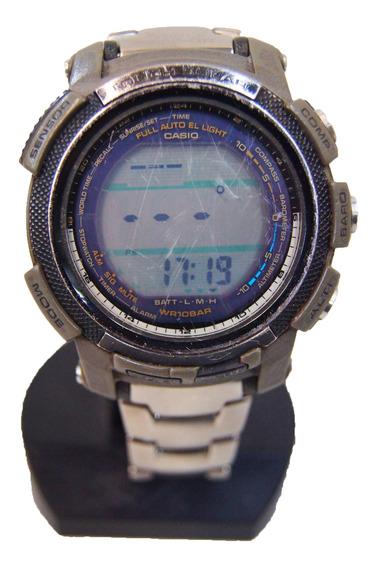 Antigo Relógio Casio Triple Sensor Pro Trek Prg -200 T