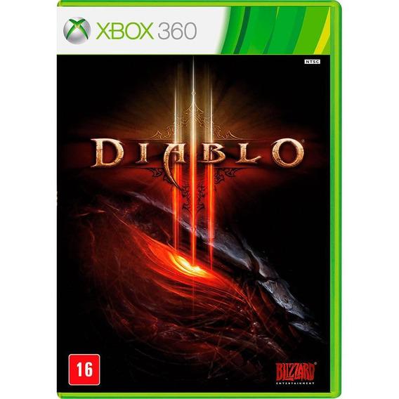 Diablo 3 Xbox 360 Original Seminovo 100% Português